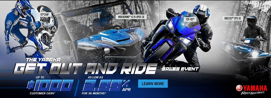 Yamaha Get out and ride Event